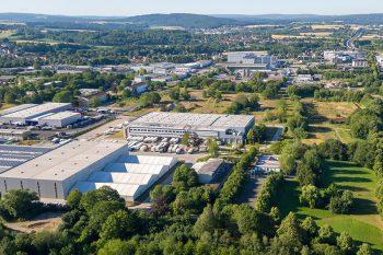Luftansicht Logistikpark
