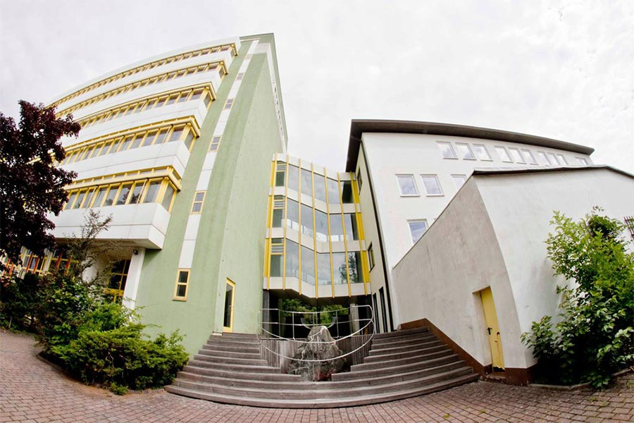 Gebäude der Schaltzentrale